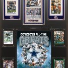 All Time Great Dallas Cowboys Photo Plaque.