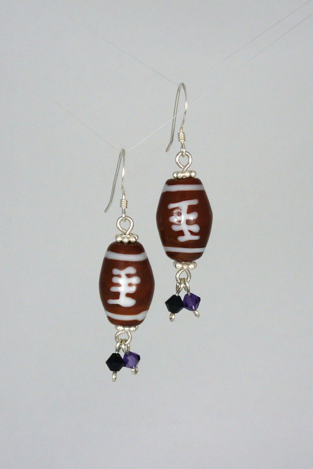 Fall Football Earrings