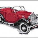 Classic Car Red