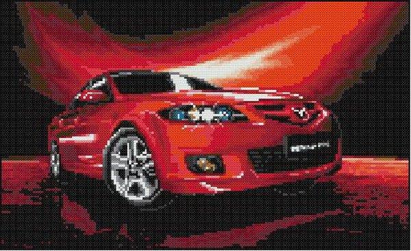 Red Mazda