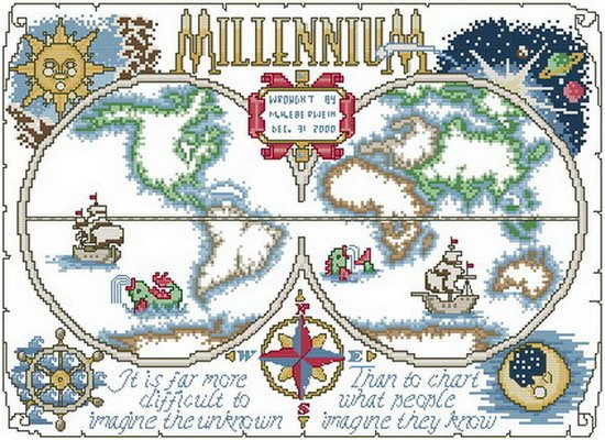 Millennium World Map