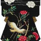 Crane Ribbons Kimono