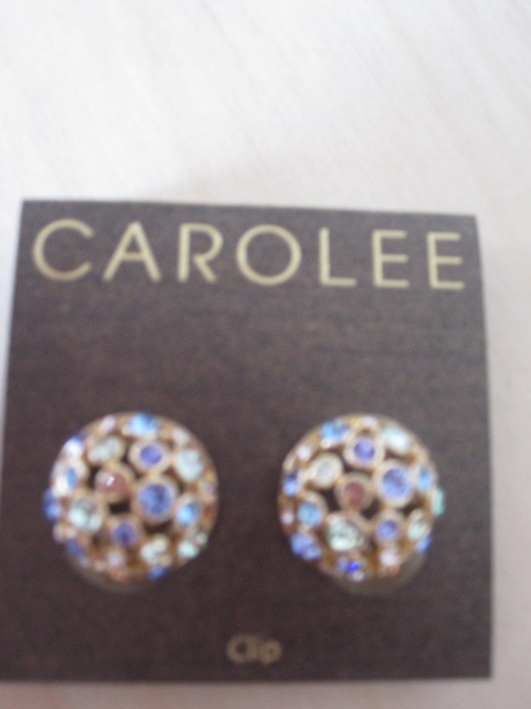 Carolee Earings W/ Crystals
