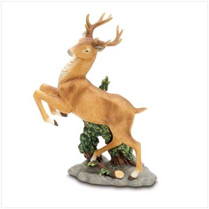 Prancing Buck Figurine - 37444