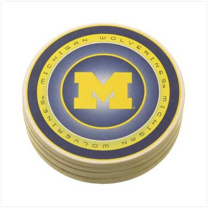 University of Michigan Absorbent Coasters - 37817
