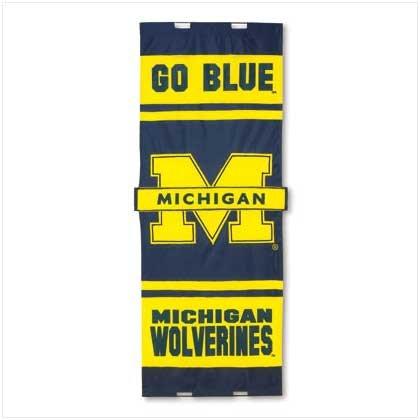 University of Michigan Door Flag - 38070