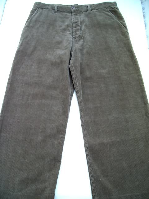French Connection corduroy men cropped pants 36 X 26