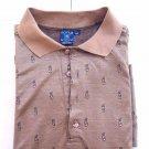 Focus mercerized cotton golf clubs Golf POLO Shirt size XXL 2X made n Italy