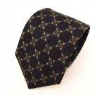 Harve Benard medallion 100% Silk mens necktie tie