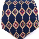 Tommy Hilfiger blue Italy 100% Silk mens neck Tie
