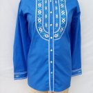 Bob Mackie Embroidered front Blouse Shirt Top Plus size 2X