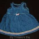 CHILDRENS PLACE 6 9 M Baby Girl Jean Dress