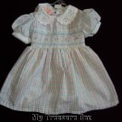 FINE & DANDY 3 6 M SPRING BABY GIRL DRESS