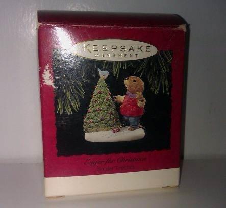 Eager for Christmas Hallmark Keepsake Ornament