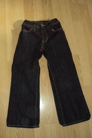 Girls 6 Slim Old Navy Bootcut Black Jeans