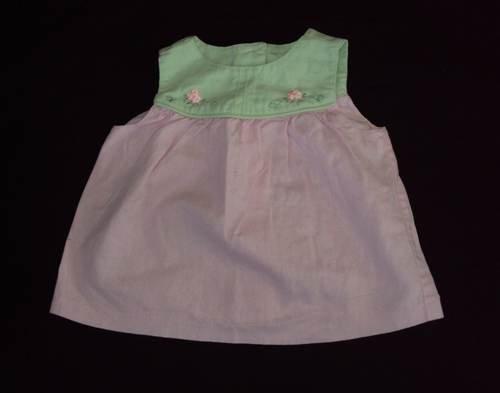 CHELSEA'S CORNER 2T Baby Girl Linen Top