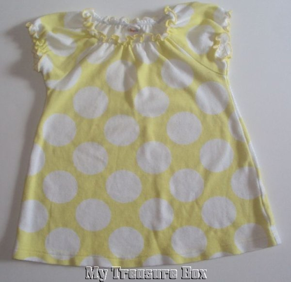 CIRCO 9 M Pale Yellow Dress with Dots