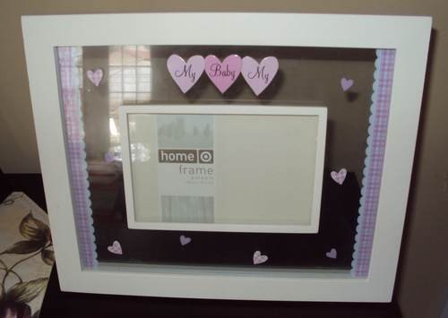 """TARGET HOME BABY PINK FRAME 11"""" x 9"""""""