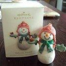 2007 Hallmark Welcome, Friends! Snowman Ornament