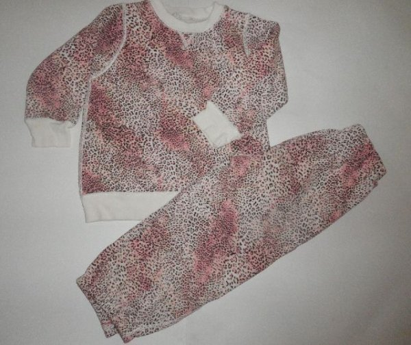 CHILDRENS PLACE 5T Cheetah 2 Pc Sweat Suit
