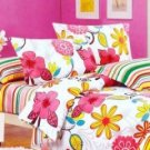 Adorable Colorful Cotton 4-pc Bedding Set