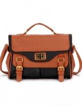 Fashion Black Satchel Handbag