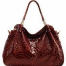 Elegant Brown Shoulder Bag For Women