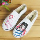 Low Cut Shoe Elastic Shoes Painting Shoes  Jean Shoes Appreal Footwear Lady shoes Canvas Shoes Shoes