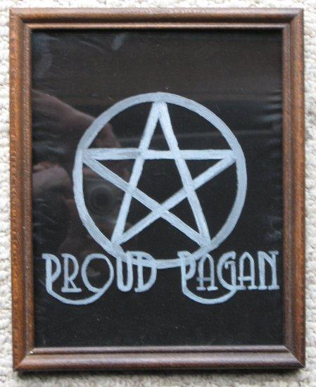 Proud Pagan Pentacle