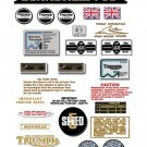1975-82: Bonneville T140V T140E T140D Decals - Triumph  Bonneville Decal Set
