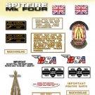 1969: A65S - BSA Spitfire Decals - MK4