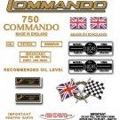 1968-73:750 - Norton Commando Decal Set
