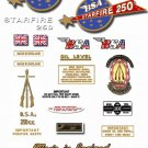 1967: BSA B25 decals - BSA Starfire Restorers Decalset