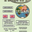 Triumph Speed Twin Decals -  Triumph 3T & 5T Restorers Decal Set