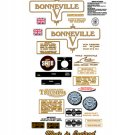 1973: Bonneville T120V Decals- RESTORERS DECAL SET- Triumph Bonneville Decals