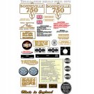 1973-74: Bonneville T140V T140RV Decals - RESTORERS DECAL SET - Triumph Bonneville Decals