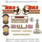 1956-63: BSA Bantam D1 Decals - Bantam D1 Restorers decal set