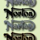 Norton Restorers - TANK BADGES - Norton Decals