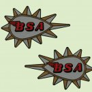 BSA Restorers - TANK DECALS - 1965 on