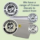 Craven Decals - STICKERS FOR CRAVEN LUGGAGE- Various types available