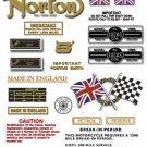 1969-70: 750S - RESTORERS DECAL SET - Norton Commando S