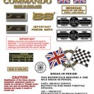 1971: 750 SS - RESTORERS DECAL SET - Norton Commando SS