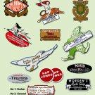 Motorcycle Dealer Decals -RESTORERS DECALS- Historic Motorcycle Suppliers Decals