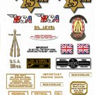 Sport Star Decals: BSA SS80 SS90 - Restorers decal sets for every model 1961-65