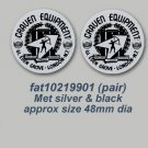 1990's Galvin Decals - STICKERS FOR 1990's GALVIN LUGGAGE