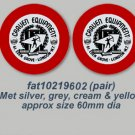 1960's Galvin Decals - STICKERS FOR 1960's GALVIN LUGGAGE