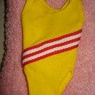 Skipper Doll yellow swimsuit - ev04