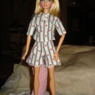 Short pajama set with red hearts for Barbie Dolls - ed49