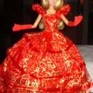 Beautiful red tierd formal for Silkstone and Barbie - ef01
