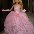 Silkstone Barbie formal in lite pink with pink lace - ed34